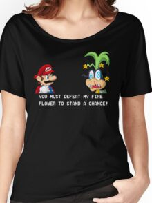 Super Street Fighter Mario Women's Relaxed Fit T-Shirt
