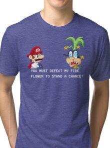 Super Street Fighter Mario Tri-blend T-Shirt