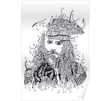 Johnny Depp (Pirates of the Caribbean) Poster