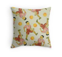Dicky Bow - Striker Throw Pillow