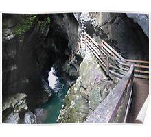 Lammerklamm Gorge - A Natural Wonder, Austria Poster