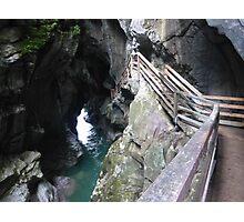 Lammerklamm Gorge - A Natural Wonder, Austria Photographic Print