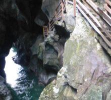 Lammerklamm Gorge - A Natural Wonder, Austria Sticker