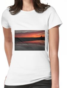 Sunset in Newport Beach Womens Fitted T-Shirt
