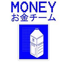 MONEY MILK Photographic Print