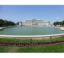 Belvedere Palace in Vienna, Austria Photographic Print