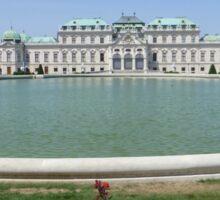 Belvedere Palace in Vienna, Austria Sticker
