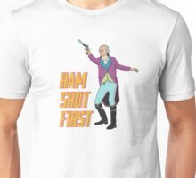 Ham Shot First Unisex T-Shirt
