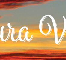 Pura Vida - Nicaragua Sunset Sticker