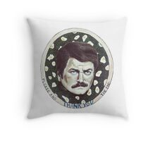 Please & Thank You. The End. Throw Pillow