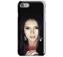 Nina Dobrev - Elena Gilbert - Poster iPhone Case/Skin