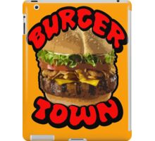 Come on Down to Burger Town iPad Case/Skin