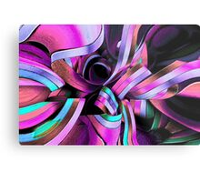 Twisted Ribbon Metal Print