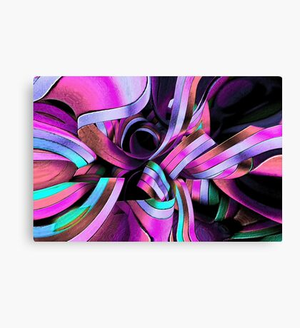 Twisted Ribbon Canvas Print