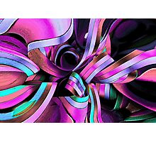 Twisted Ribbon Photographic Print