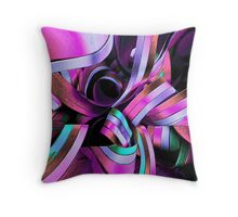 Twisted Ribbon Throw Pillow