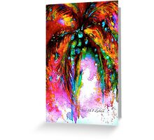Tropical Fandango Greeting Card