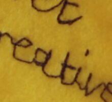 Get Creative Post-it DHMIS Sticker