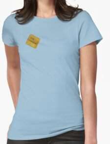 Get Creative Post-it DHIS Womens Fitted T-Shirt
