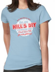 Hill's DIY - Rustic Theme Womens Fitted T-Shirt