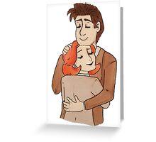 terma hug Greeting Card