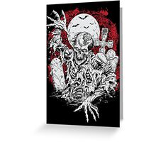 Return Of The Linving Dead Greeting Card