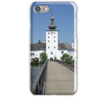 Ort Castle in Traunsee Lake, Austria iPhone Case/Skin