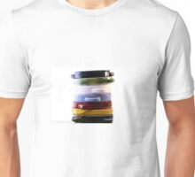 Tapas Tower Plates Colored Unisex T-Shirt