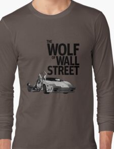 THE WOLF OF WALL STREET-LAMBORGHINI COUNTACH Long Sleeve T-Shirt