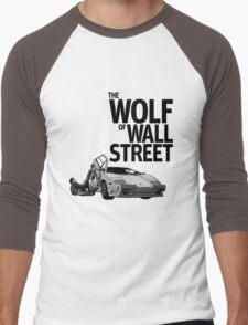 THE WOLF OF WALL STREET-LAMBORGHINI COUNTACH Men's Baseball ¾ T-Shirt