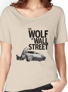 THE WOLF OF WALL STREET-LAMBORGHINI COUNTACH Women's Relaxed Fit T-Shirt