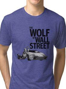 THE WOLF OF WALL STREET-LAMBORGHINI COUNTACH Tri-blend T-Shirt