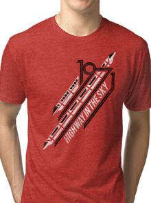 Monorail Red T-Shirt  Tri-blend T-Shirt