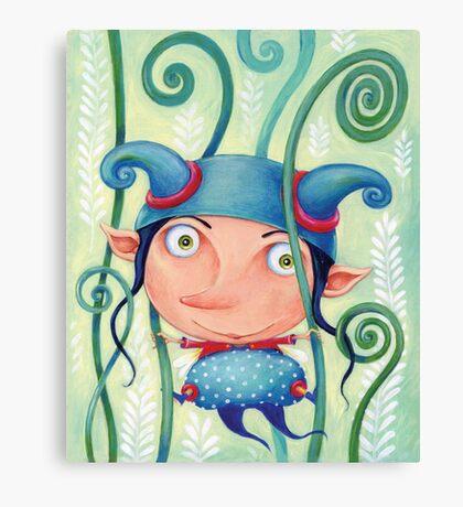 Fern elf Canvas Print