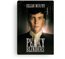 Cillian Murphy - Peaky Blinders - Tommy Shelby Canvas Print