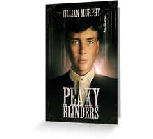 Cillian Murphy - Peaky Blinders - Tommy Shelby Greeting Card