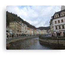 The Cosmopolitan Town of Karlovy Vary, Czech Republic Canvas Print