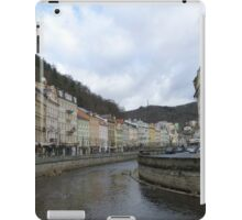 The Cosmopolitan Town of Karlovy Vary, Czech Republic iPad Case/Skin