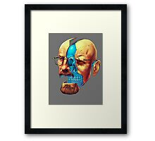 BREAKING BAD WALTER´S HEAD Framed Print
