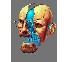BREAKING BAD WALTER´S HEAD Photographic Print