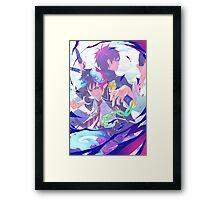 Blue Exorcist Anime Framed Print