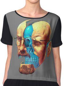 BREAKING BAD WALTER´S HEAD Chiffon Top