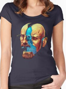 BREAKING BAD WALTER´S HEAD Women's Fitted Scoop T-Shirt