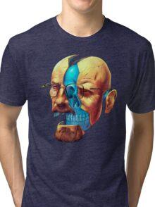 BREAKING BAD WALTER´S HEAD Tri-blend T-Shirt