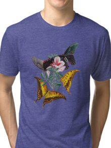 TIR-Butterfly-3 Tri-blend T-Shirt