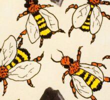 herrenvolk bees Sticker