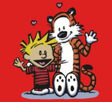 LOVEABLE CALVIN AND HOBBES : TSHIRT One Piece - Long Sleeve