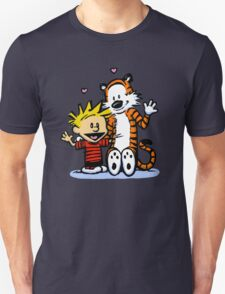 LOVEABLE CALVIN AND HOBBES : TSHIRT T-Shirt