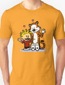 LOVEABLE CALVIN AND HOBBES : TSHIRT Unisex T-Shirt