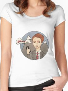 dale cooper Women's Fitted Scoop T-Shirt